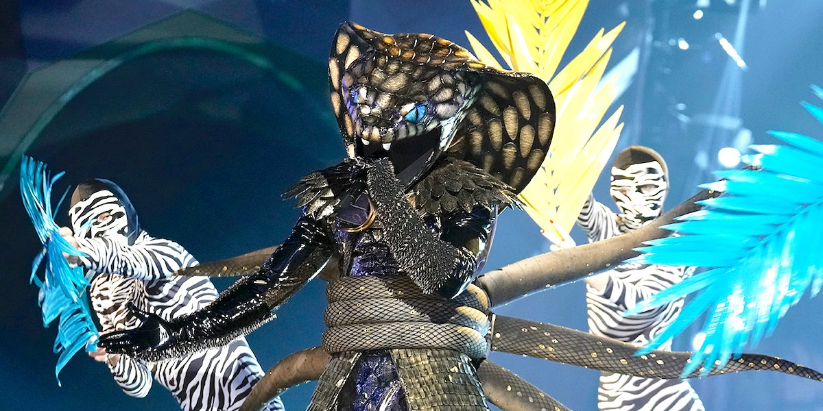 the masked singer serpent