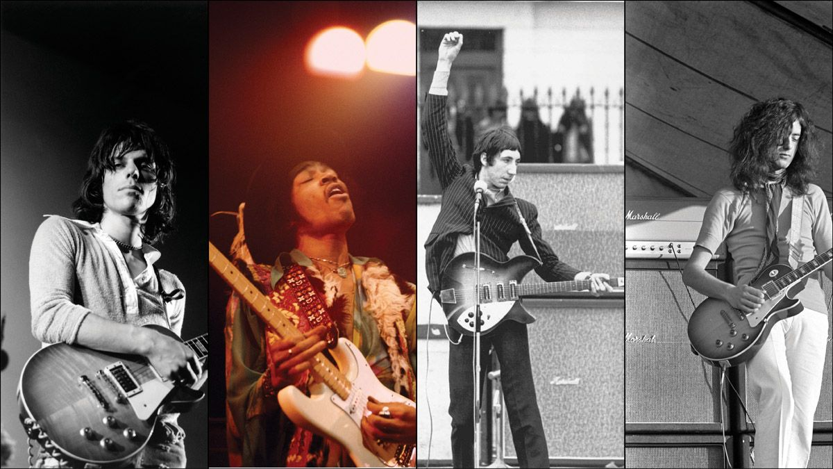 How Beck, Hendrix, Townshend, Page, and More Set the Template for Hard Rock Guitar in the 1960s