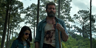 Logan Wolverine and X-23 together in forest
