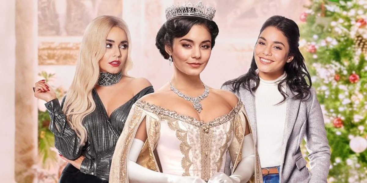 Vanessa Hudgens in The Princess Switch 2