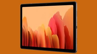The Samsung Galaxy Tab A7