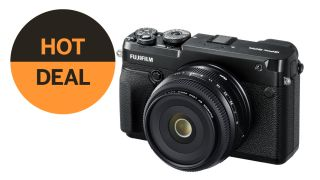 Go medium format for just $3,998 / £3,498! Fujifilm GFX 50R + 50mm lens