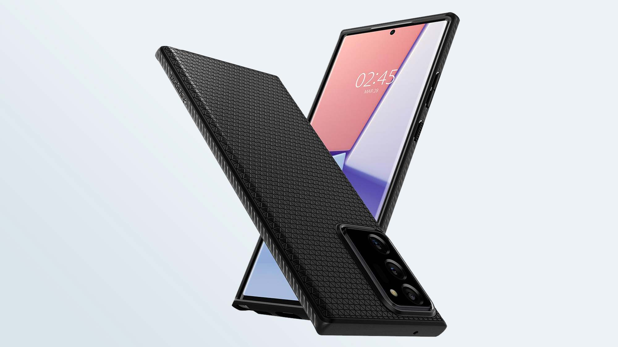 Лучшие чехлы для Samsung Galaxy Note 20 Ultra: чехол Spigen Liquid Air