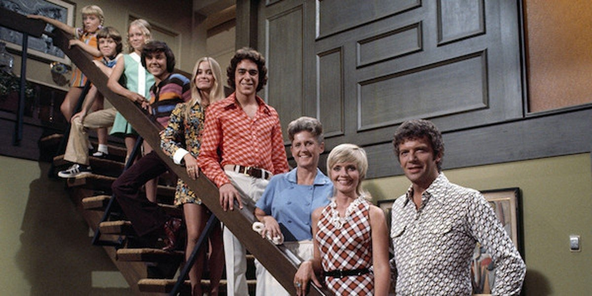 The Brady Bunch cast.