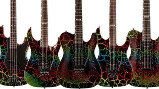 ESP LTD '87 Series Rainbow Crackle