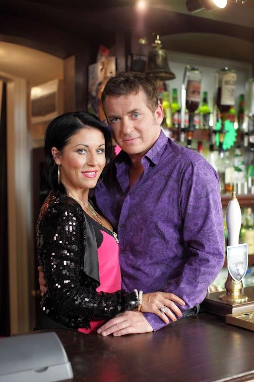 Kat and Alfie in EastEnders