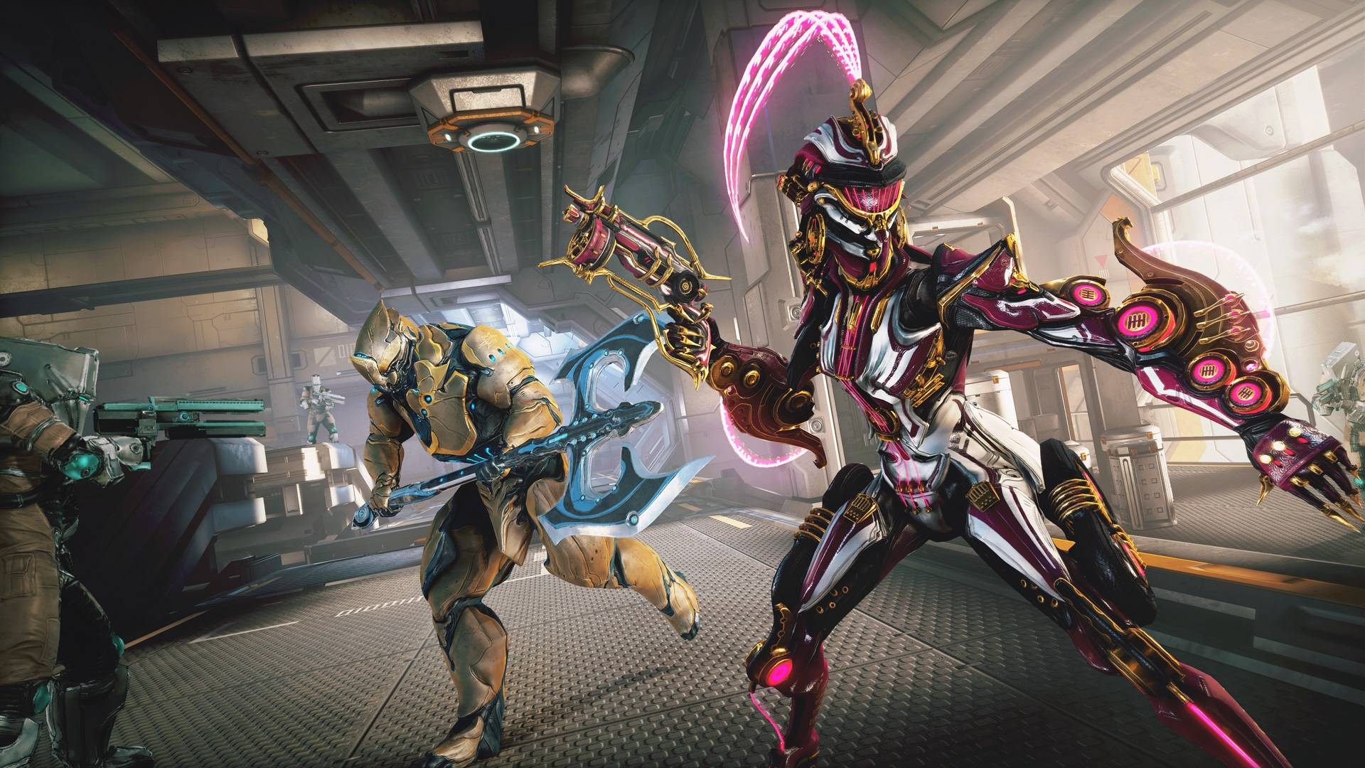 Here's a look at Warframe's ghostly, groovy spring updates