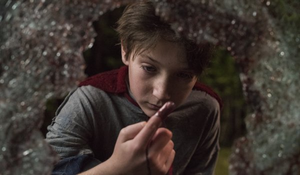 Brightburn Brandon examines blood from the scene of one of his crimes