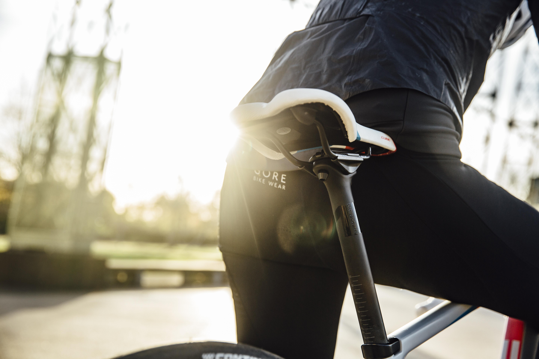 Ergonomic Bicycle Seat Extra Wide Padded Saddle Stationary Exercise Women Bike