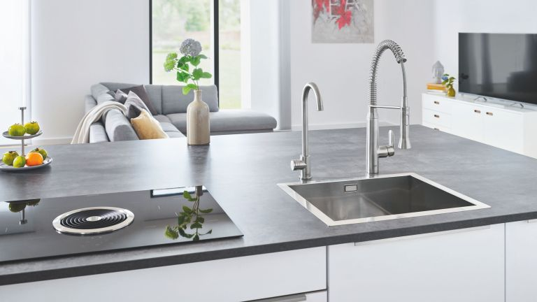 the best boiling water tap: grohe