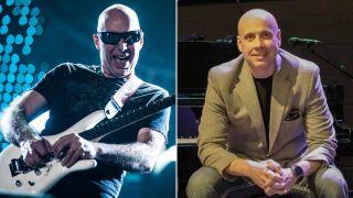 [L-R] Joe Satriani and Kitt Wakeley