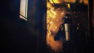 firefighter model toy photography