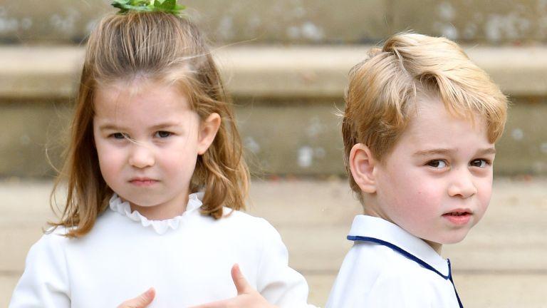 Cambridge children Prince George Princess Charlotte