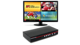 Hall Research Releases Seamless Video Switch with Multiview