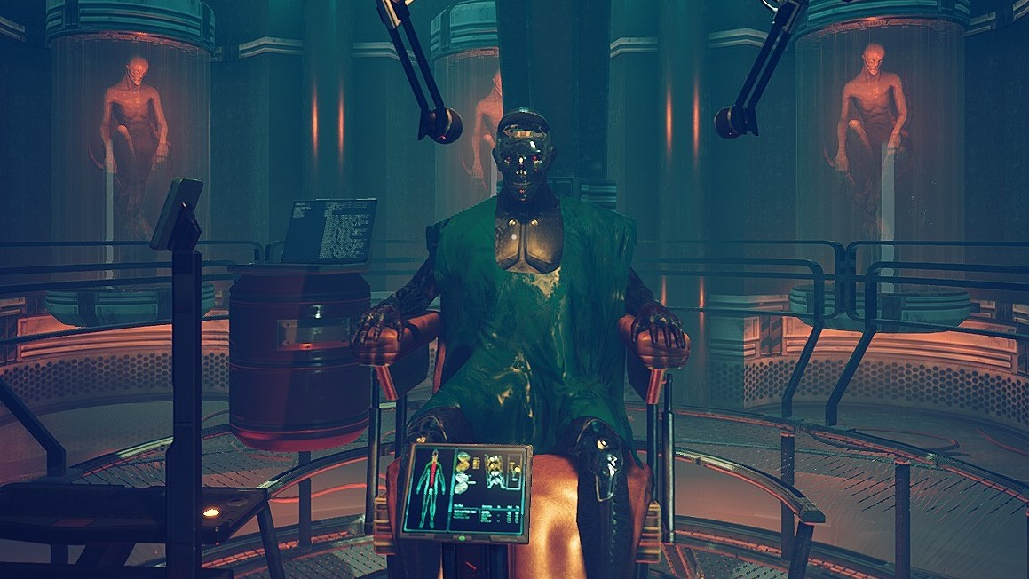 Hack things, go mad, in cyberpunk cosmic horror adventure Transient