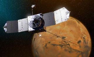 NASA's Mars Maven in Orbit