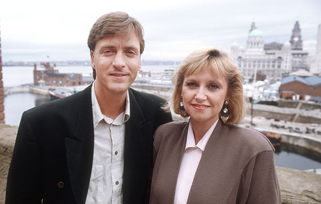 Richard Madeley and Judy Finnigan on This Morning in 1988