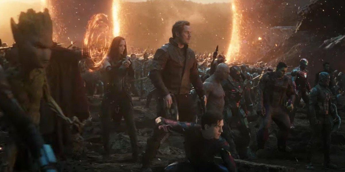 Avengers: Endgame's portal scene