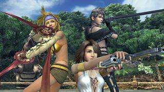 Final Fantasy X-2 Yuna, Rikku and Paine