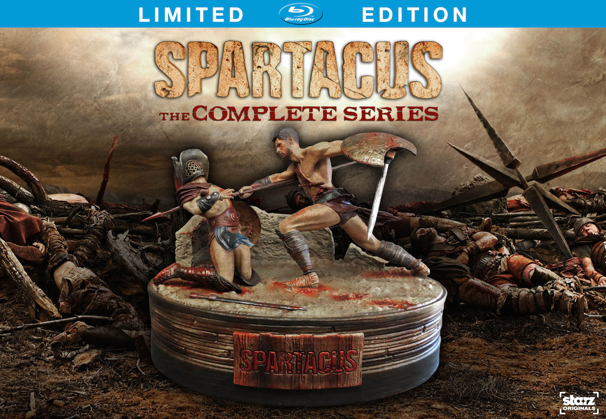 Spartacus: The Complete Series DVD And Blu-ray Box Sets Coming September #31569