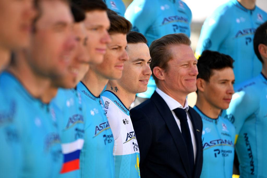 Astana team manager Alexandre Vinokourbv
