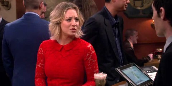 9b201ebab51 What Went On With Kaley Cuoco s Big Bang Theory Lingerie Scene ...