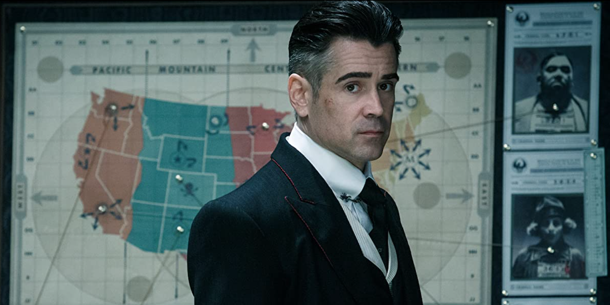 Colin Farrell in Fantastic Beasts