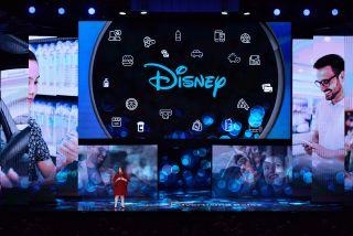 Rita Ferro, president of Disney Ad Sales, during Disney's 2019 upfront presentation.