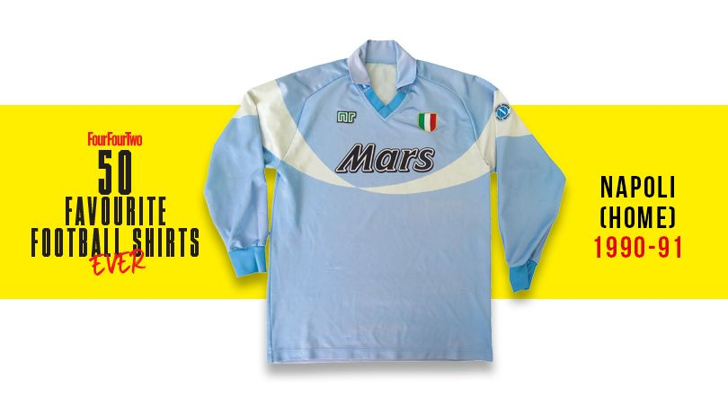 Fourfourtwo S 50 Best Football Shirts Ever Fourfourtwo