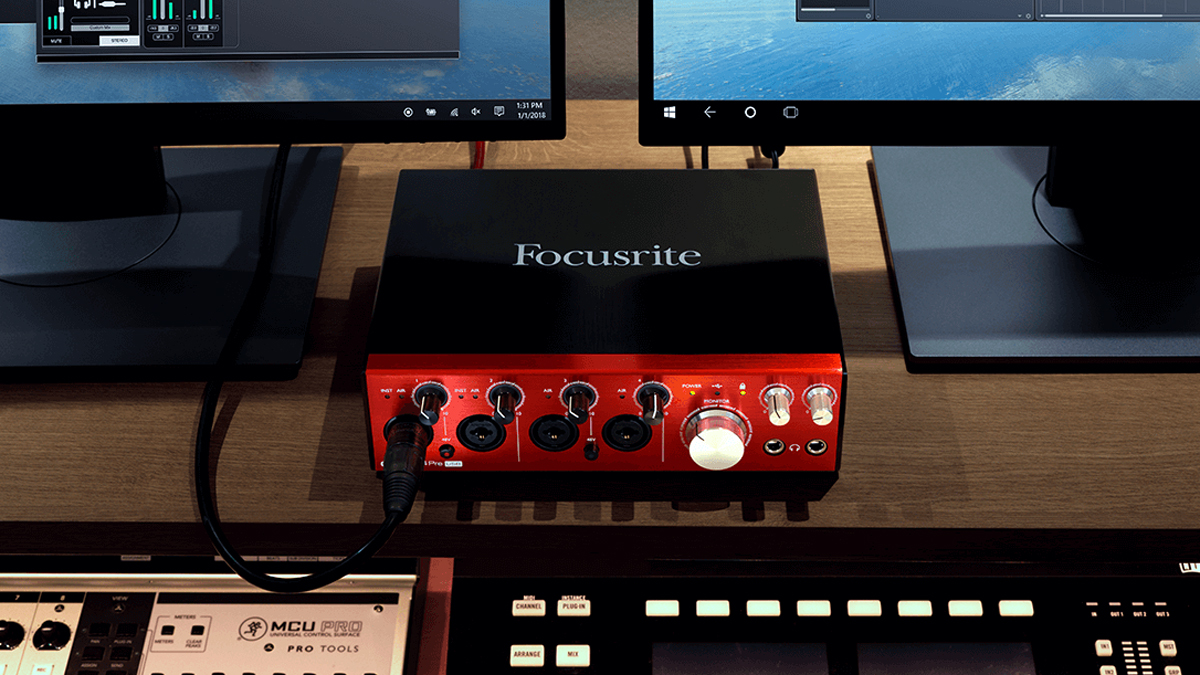 Best Usb Audio Interfaces The For Music Preamplifier Soundcard Production Musicradar