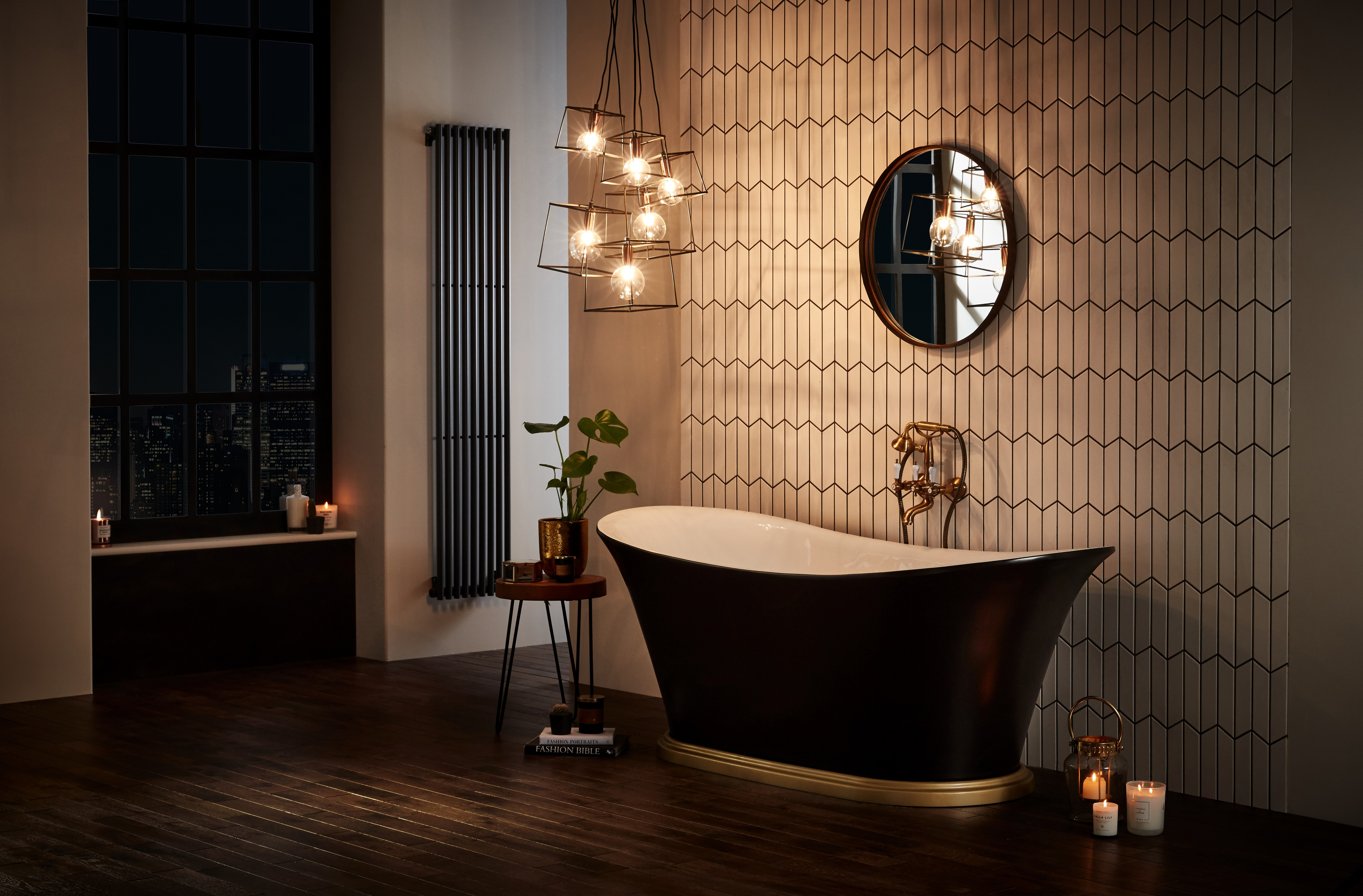 Black Bathrooms 18 Dramatic Looks That Will Inspire An Elegant Makeover Real Homes