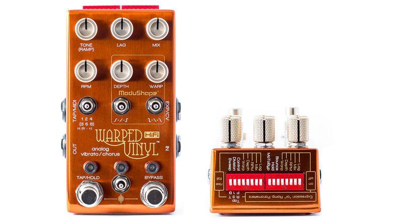 Chase Bliss Audio Unveils Warped Vinyl Hifi Vibrato Chorus