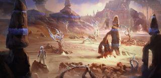 Starfield planet artwork