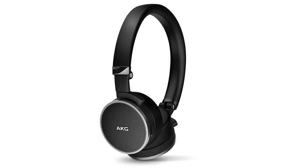 the AKG N60NC Wireless headphones in black