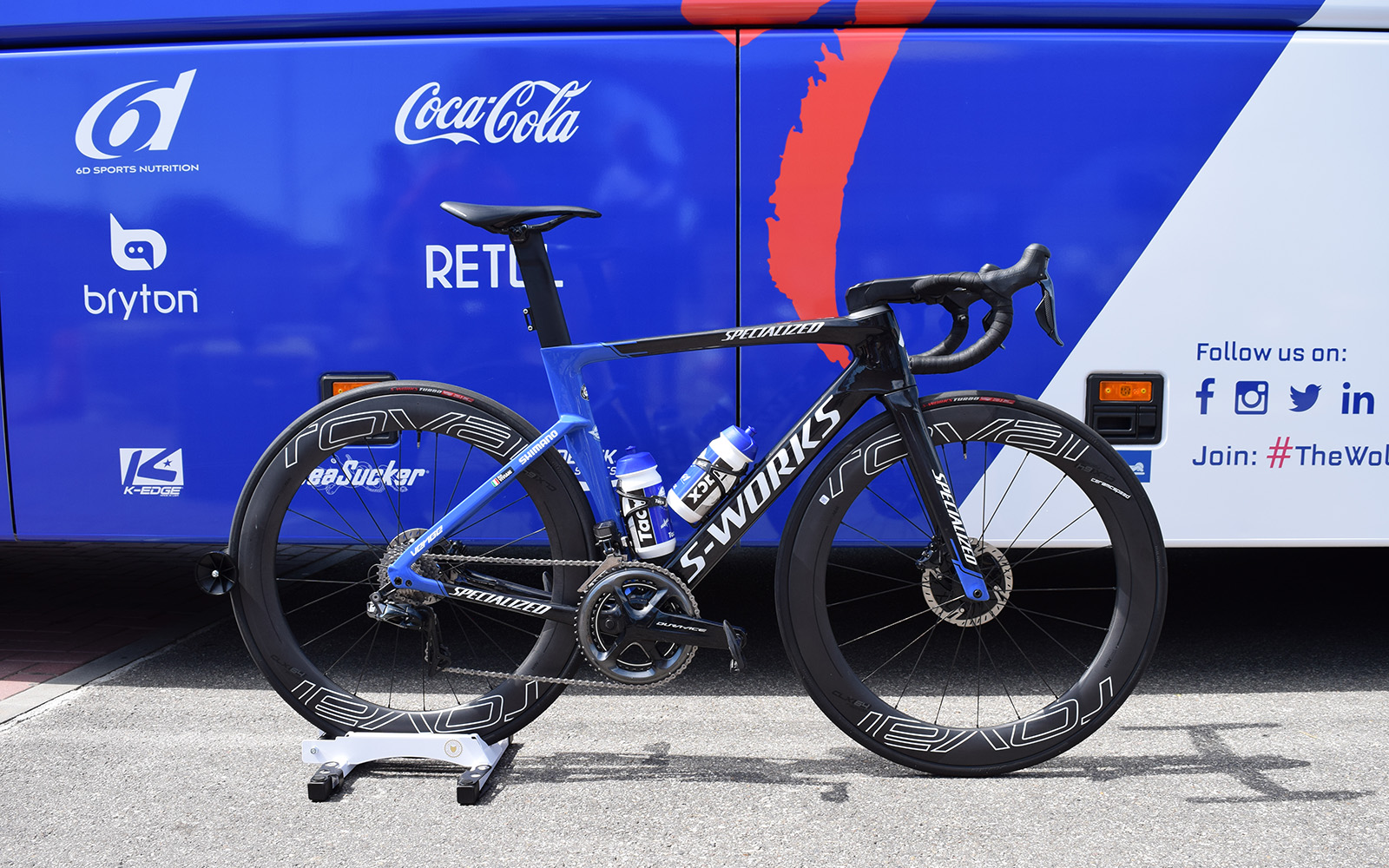 Tour De France Bikes Elia Viviani S Specialized S Works Venge Cyclingnews