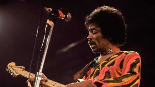 Jim Hendrix onstage