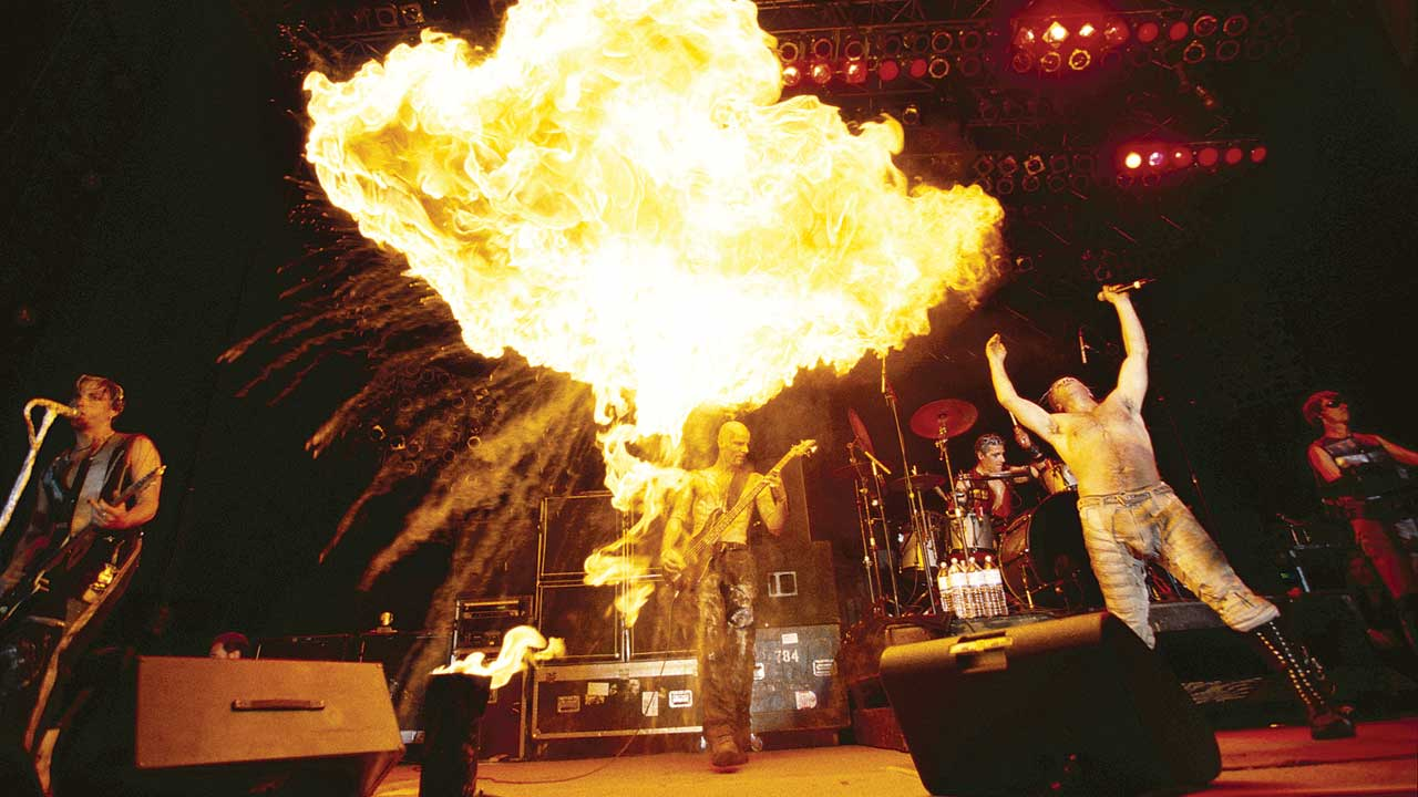 Rammstein Live: Behind the scenes of their epic flame-fuelled performances | Louder
