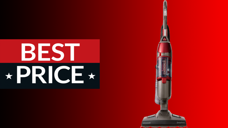 Steam mop on sale: $80 off Bissell Symphony steam mop at Walmart