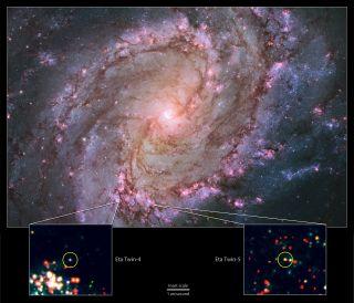 M83's Eta Twins.