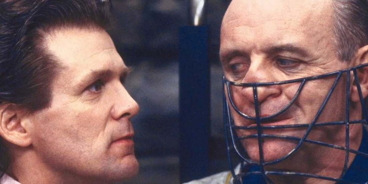 Dr. Chilton and Hannibal Lecter