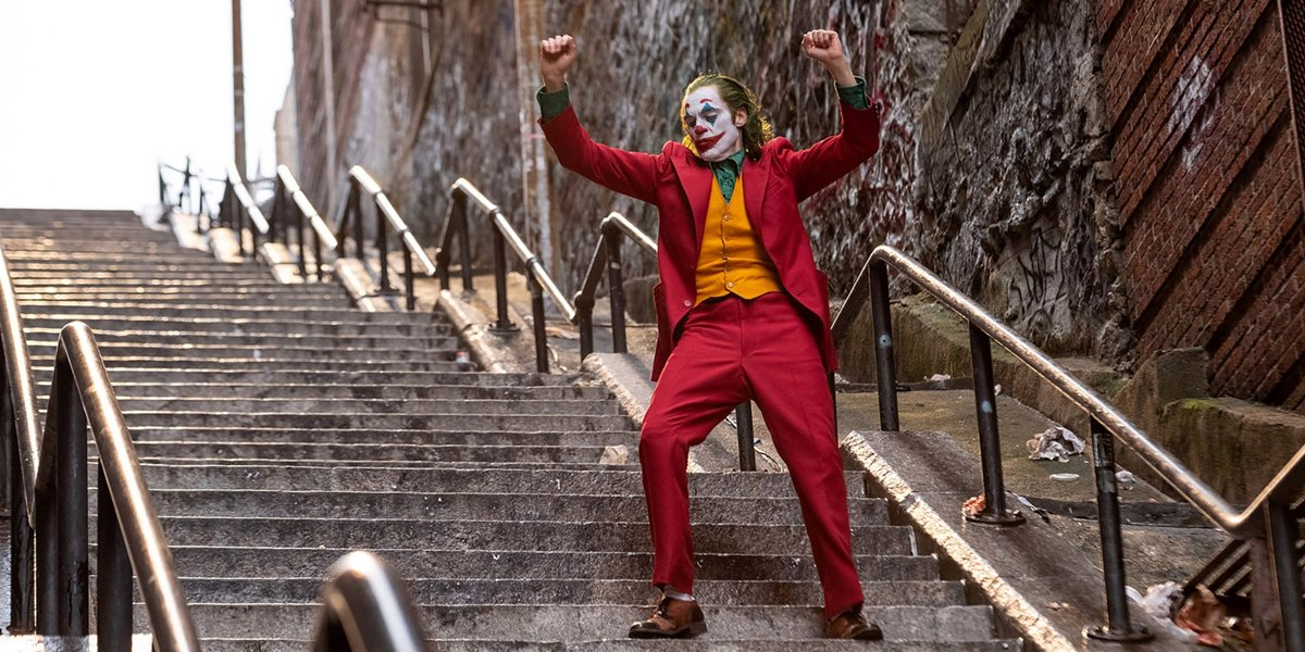 Local Joker Fan Filmed Joaquin Phoenix's Iconic Stair Dance In Real Time
