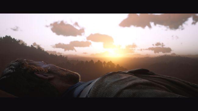 En el final bueno, Arthur tendrá una muerte apacible viendo la puesta de sol
