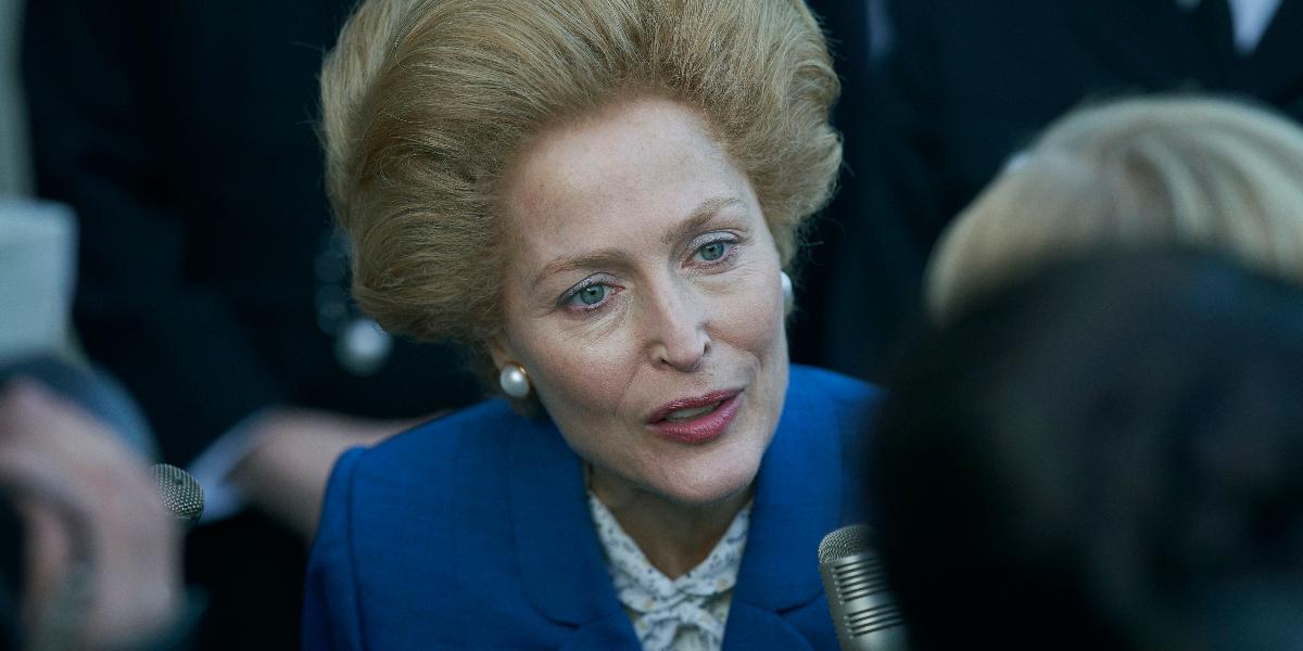 The Crown Margaret Thatcher Gillian Anderson Netflix