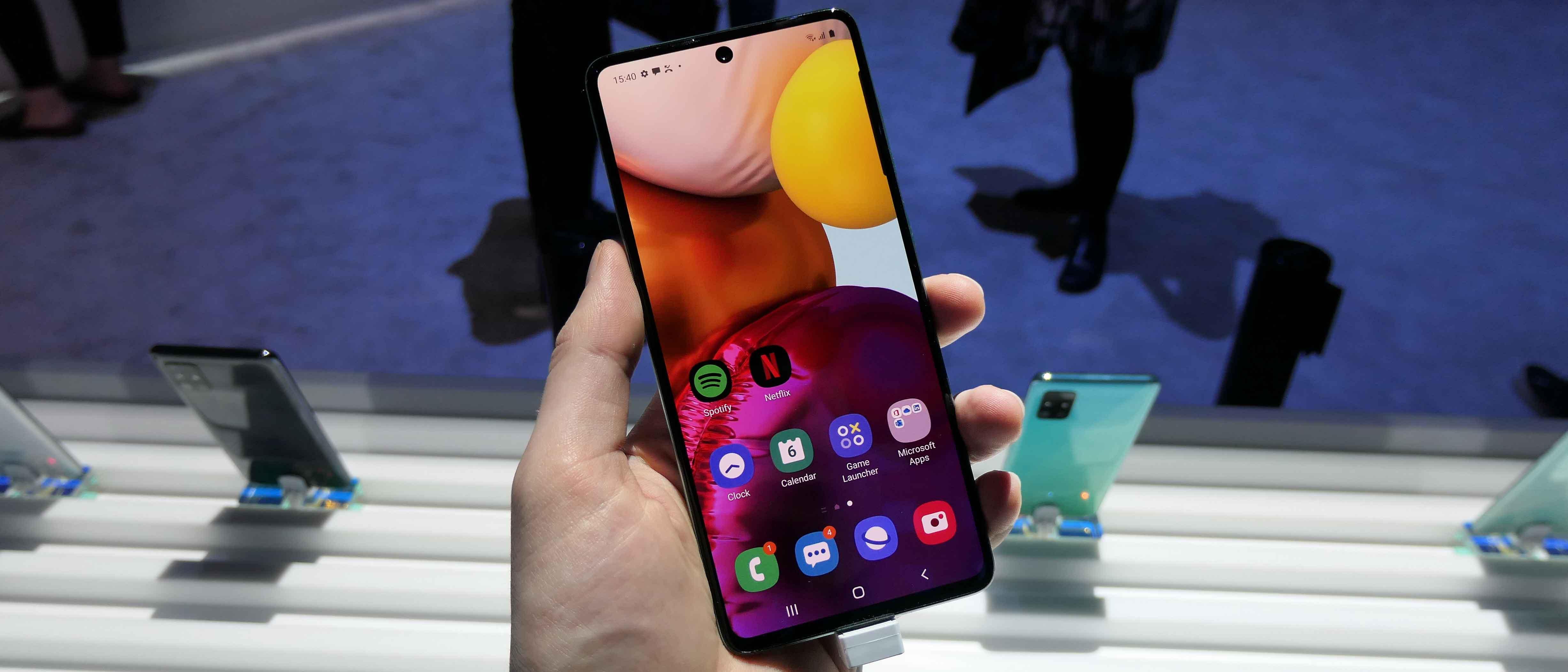 Hands On Samsung Galaxy A71 Review Techradar