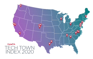 CompTIA 2020 Tech Town Index