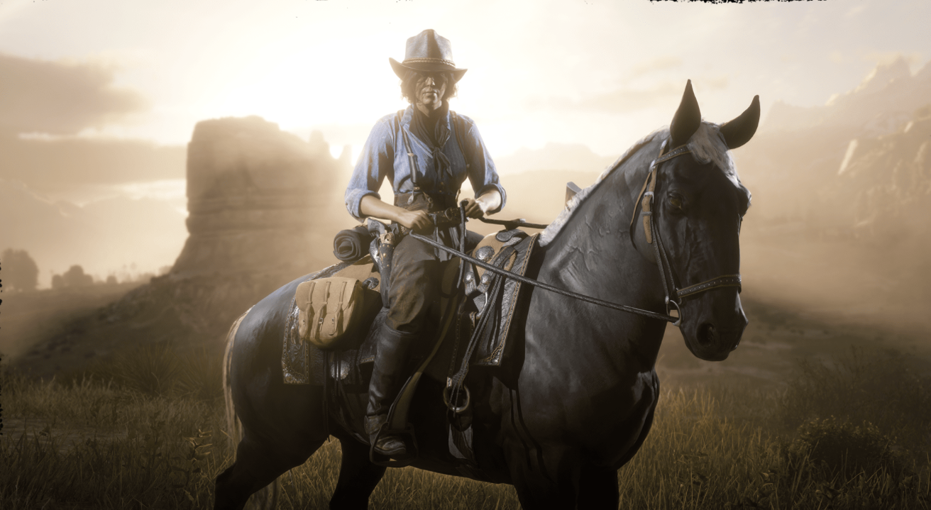 Red Dead Online cowpokes.