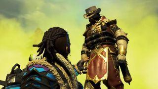 Apex Legends' Caustic looks like a Mortal Kombat Kowboy