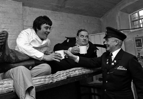 The duo also created Porridge starring Ronnie Barker, Richard Beckinsale and Fulton Mackay (Paul Warner)/PA