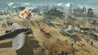 Company of Heroes 3 airbase battle