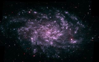 Black Holes Key to Spiral Arm Hugs